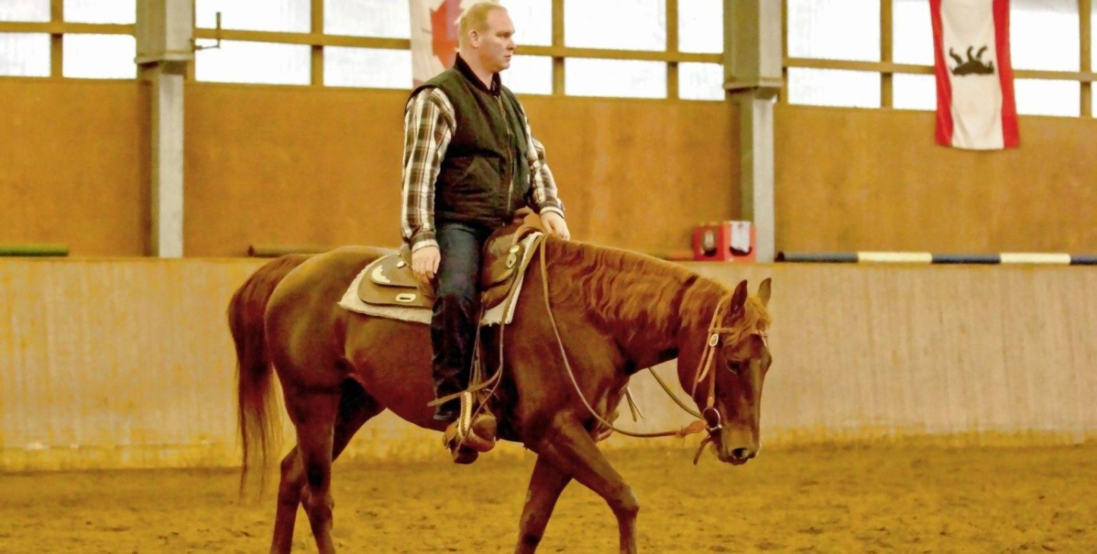 "Relaxe your Horse"" mit Andreas Martin"